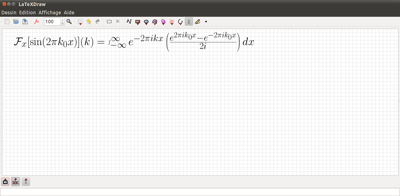 LaTeXDraw - A vector drawing editor for LaTeX
